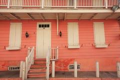 Bahamas house Royalty Free Stock Photo