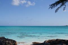 bahamas idylliska ögonblick Royaltyfri Foto