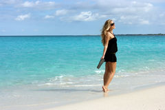 On the Bahamas island Stock Photos