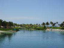 Bahamas island stock image