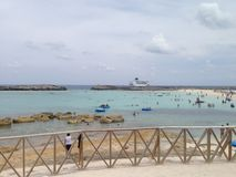 Bahamas-Kreuzfahrt Stockbilder