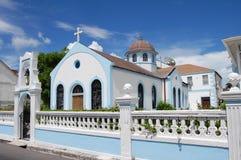 bahamas kyrka royaltyfria bilder