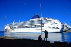 Bahamas molo obraz royalty free