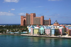 Bahamas-Paradies-Insel Lizenzfreie Stockfotografie