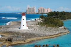 bahamas paradis Arkivbild