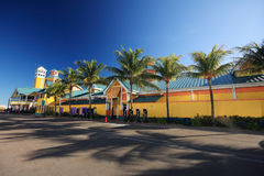 Bahamas pier Royalty Free Stock Images