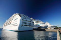 Bahamas pier Stock Photos