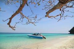 Bahamas pier Royalty Free Stock Photography