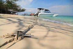 Bahamas pier Stock Image