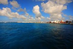Bahamas pier Royalty Free Stock Photo