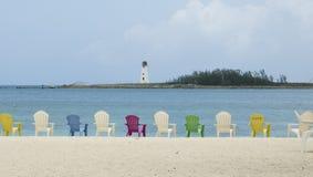 bahamas plaża Zdjęcia Royalty Free
