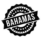 Bahamas stamp rubber grunge Royalty Free Stock Photo