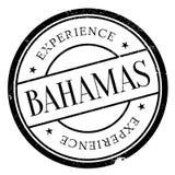 Bahamas stamp rubber grunge Stock Photography