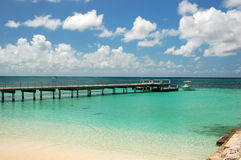 bahamas strand Arkivfoton