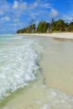 Bahamas-Strand stockfoto