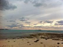 Bahamas sunset Royalty Free Stock Photo