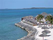 Bahamas-Ufer Lizenzfreies Stockbild