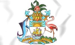 Bahamas-Wappen Stockfotos