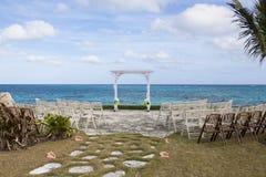Bahamas wedding site Royalty Free Stock Image