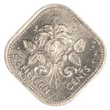 15 Bahamiaans centmuntstuk Royalty-vrije Stock Fotografie