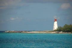 Bahamiaanse Vuurtoren Stock Foto