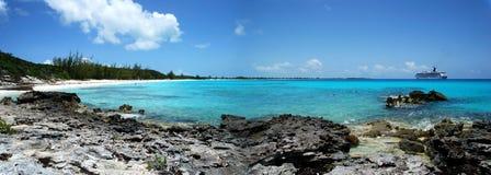 Bahamian Beach Stock Photo