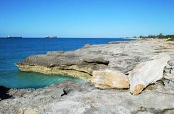 Bahamian Coastline Stock Photos