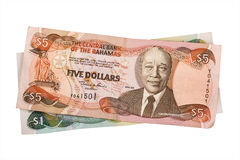 Bahamian dollars Royalty Free Stock Image