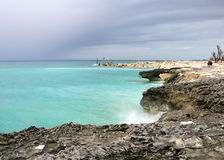 The Bahamian Ghost Beach Royalty Free Stock Photos