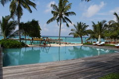 Bahamian islands of Maldives you a beautiful landscape Royalty Free Stock Images
