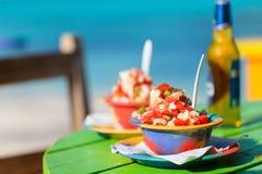 Bahamian konchy sałatka obrazy stock