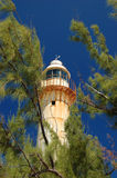 Bahamian Lighthouse. In Grand Turk Stock Photography