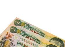 Bahamisches Geld Lizenzfreie Stockfotografie