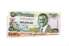 bahamy dolarów Obrazy Stock