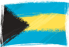 bahamy flagi crunch Obrazy Stock