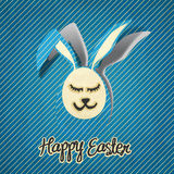 BAHAPPY EASTER !!! postcard illustration Stock Image