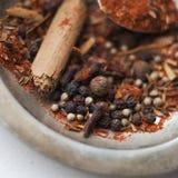 Baharat - mistura da especiaria Fotografia de Stock