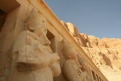 baharideir egypt el luxor Arkivfoton