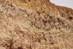 Bahariya oasjärn bryter 2 arkivfoto