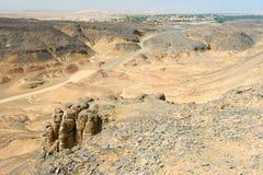 Baharya oasis, Egypt Royalty Free Stock Photos