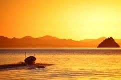 Bahia Concepcion, Baja California, México Fotos de Stock Royalty Free