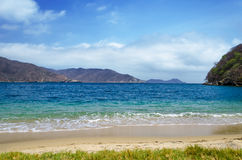 Bahia Concha-strand royalty-vrije stock afbeeldingen