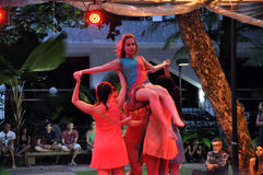 Bahia Dance Festival Immagini Stock Libere da Diritti