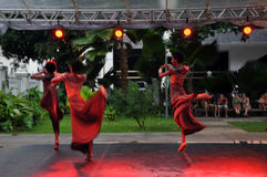 Bahia Dance Festival Stock Photo