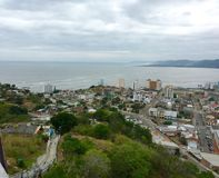 Bahia de Caraquez, Ecuador immagine stock