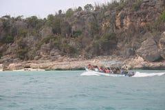 Bahia De Las Aguilas zatoka Eagles Zdjęcia Stock