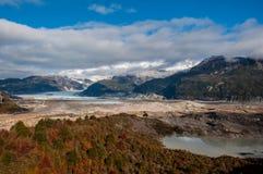 Bahia Exploradores, Carretera Austral, estrada 7, o Chile Foto de Stock Royalty Free