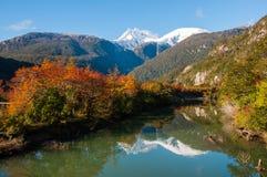 Bahia Exploradores, Carretera Austral, Highway 7, Chile Royalty Free Stock Image