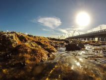 Bahia Honda, κλειδί ΛΦ Στοκ φωτογραφία με δικαίωμα ελεύθερης χρήσης