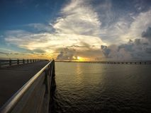 Bahia Honda, chave de FL Fotos de Stock Royalty Free